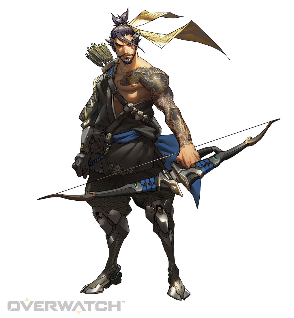 Hanzo is one of the heroes of Defense Mode in Overwatch. (Image: Blizzard)