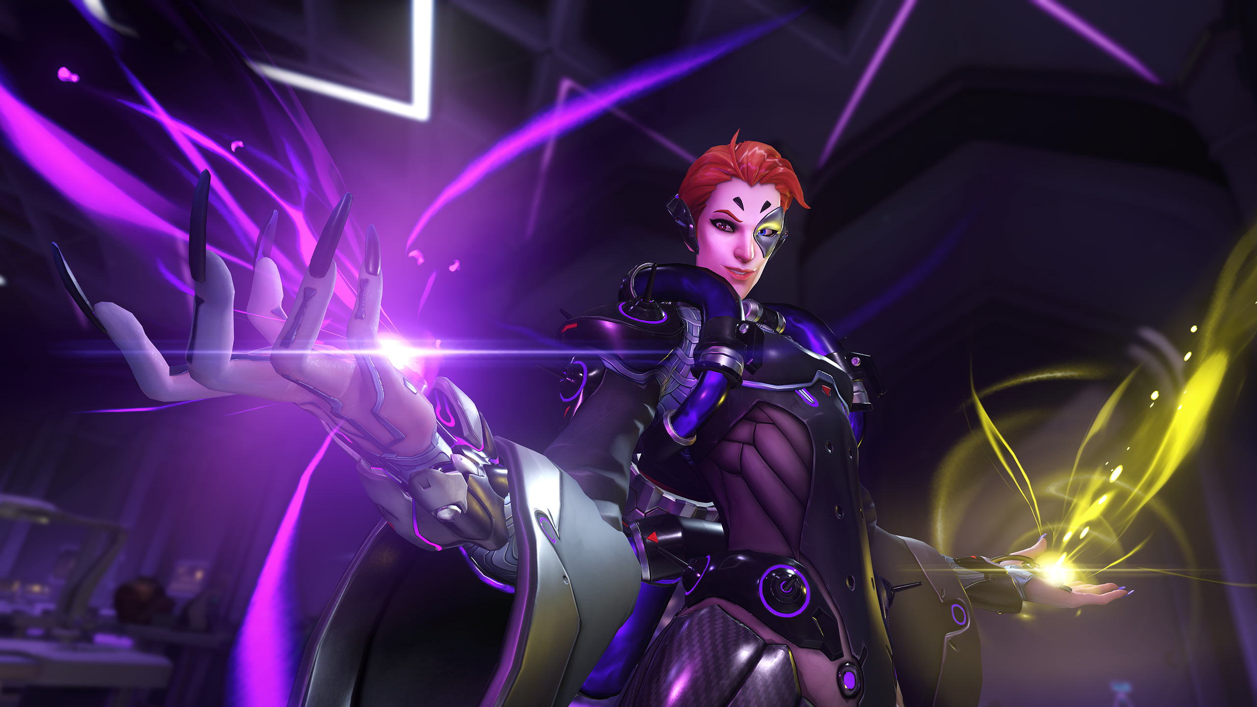 Moira is one of the Support heroes in Overwatch. (Image: Blizzard)