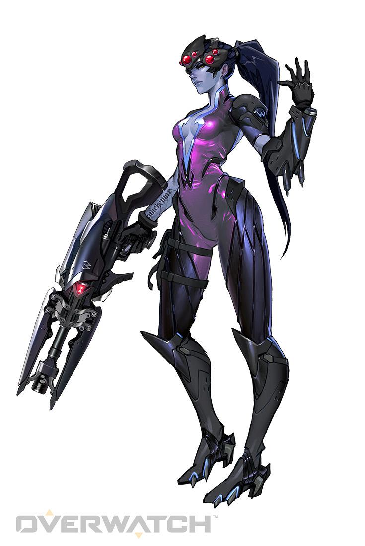 Widowmaker - Heroes - Overwatch