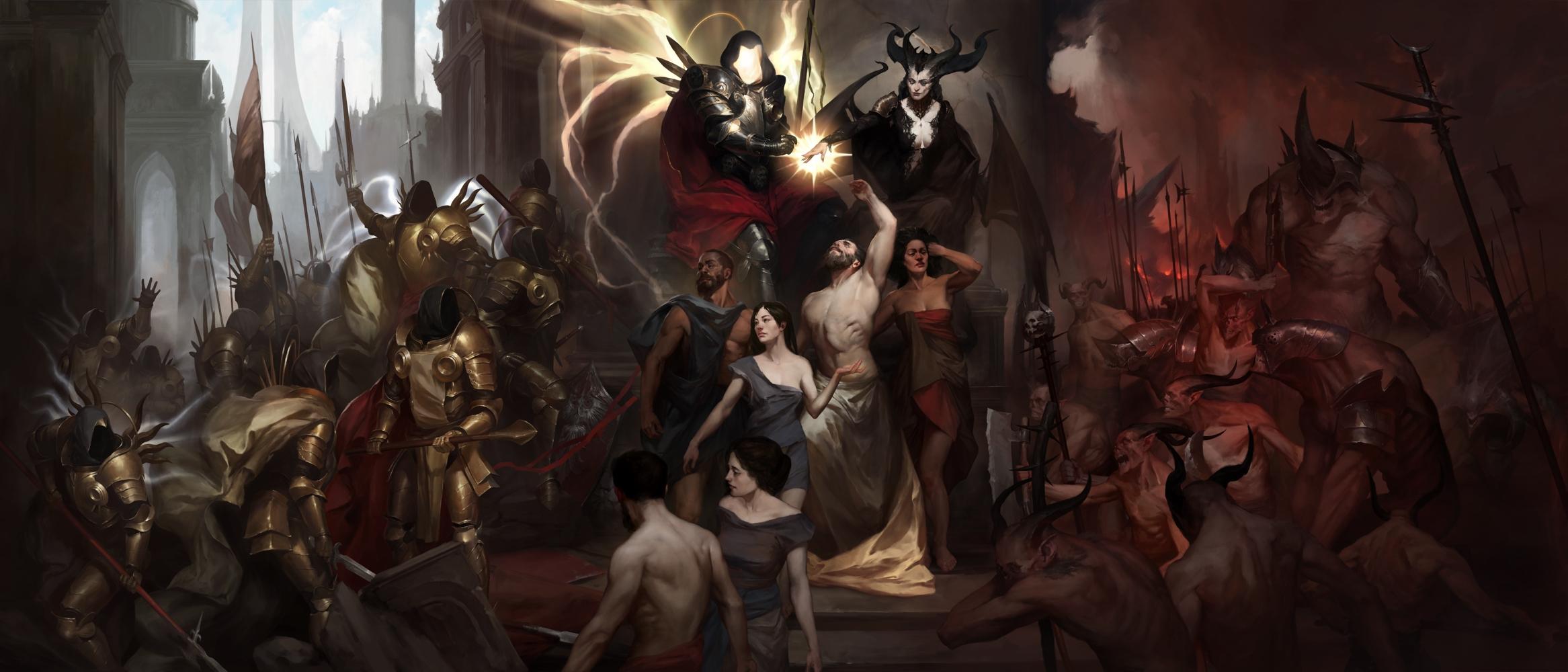 Diablo IV   Diablo 4 (Blizzard Entertainment) (RUS ENG MULTi)