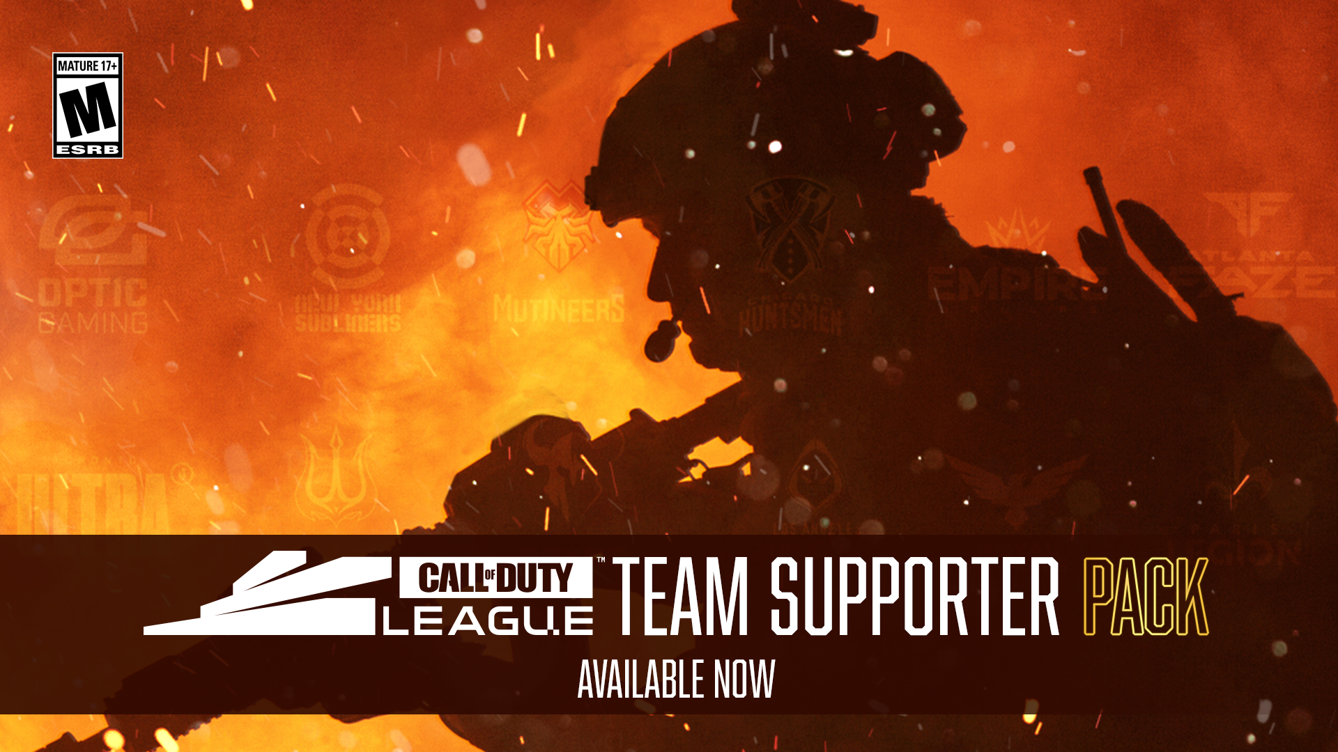 Call Of Duty League Cdl Team Support Pack